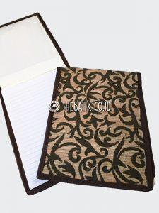 Souvenir Seminar Kit Buku Blocknote Serat Alam