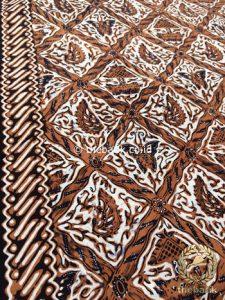 Bahan Kain Batik Tulis Kombinasi Motif Sido Luhur Klasik
