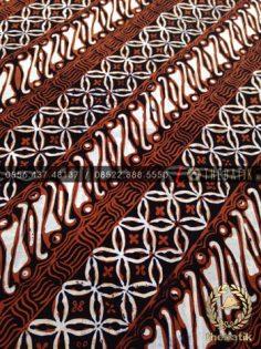 Bahan Baju Batik Tulis Kombinasi Motif Parang Seling
