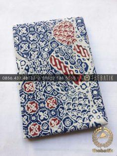 Kain Bahan Baju Batik 2 Meteran Warna Biru Sekarjagad