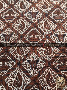 Kain Bahan Baju Batik Klasik Jawa Motif Sido Luhur