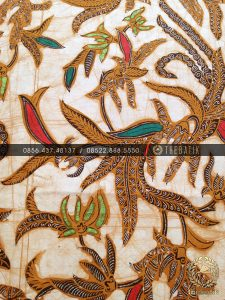 Kain Bahan Baju Batik Sogan Genes Solo Coletan