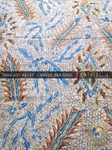 Kain Bahan Baju Batik Tulis Warna Alam Gringsing Pakis