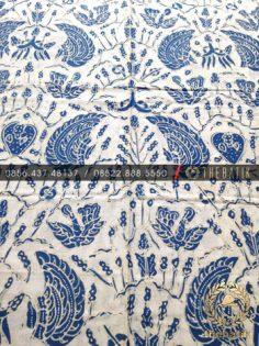 Kain Batik Tulis Warna Alam Bahan Baju Sido Asih Latar Putih