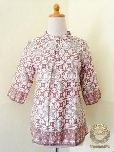 Model Baju Batik Kerja Wanita – Blus Warna Alam Modern
