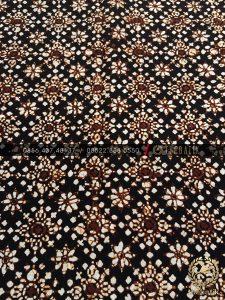 Kain Batik Jawa Klasik Motif Ceplok Bintang Sogan