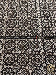 Kain Batik Jawa Klasik Motif Jarak Kepyar Sogan