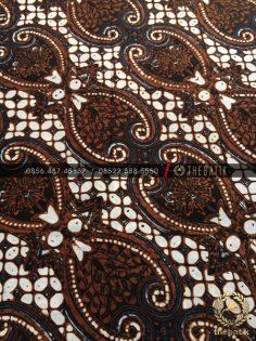 Kain Batik Jawa Klasik Motif Lereng Wirasat Sogan