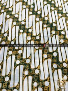 Batik Klasik Keraton Jogja Parang Kuning Hijau