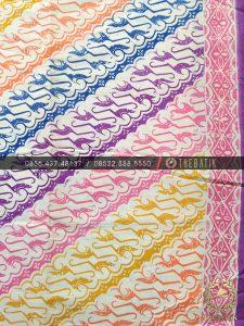 Batik Modern Motif Klasik Parang Pelangi Warna-Warni