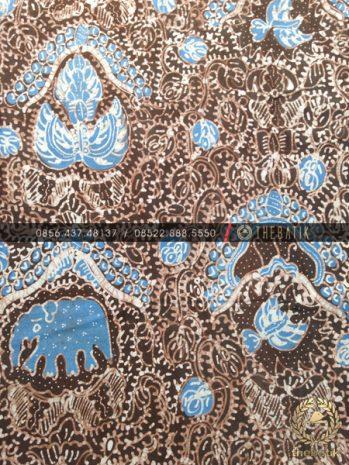 Batik Tulis Warna Alam Motif Gajah Coklat