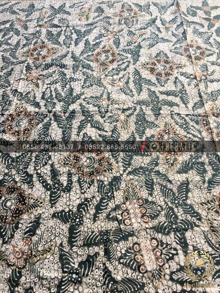 Kain Batik Tulis Warna Alam Motif Gringsing