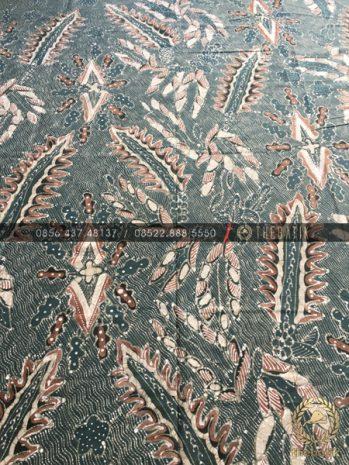 Kain Batik Tulis Warna Alam Motif Pakis Haji