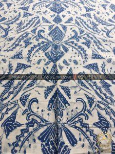 Kain Batik Tulis Warna Alam Pisan Bali Latar Putih