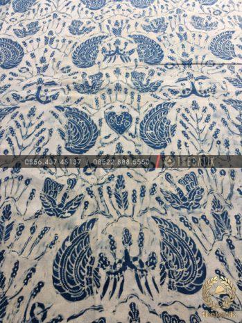 Kain Batik Tulis Warna Alam Sido Asih Latar Putih