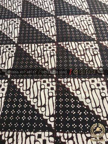 Model Baju Kemeja Seragam Batik Kantor / Keluarga Motif Klasik-3