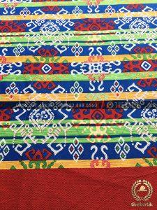 Kain Batik Meteran Murah Model Sarung Bugis Merah
