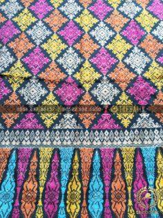 Kain Batik Modern Bahan Katun Model Endek Bali