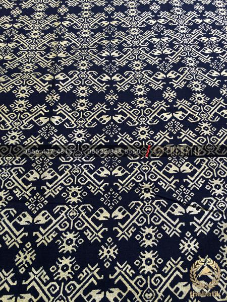 Kain Batik Meteran Murah Model Songket Prada