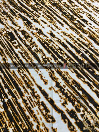 Kain Batik Kontemporer Abstrak Lereng Liris Sogan