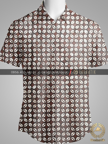 Kain Batik Klasik Jogja Motif Kawung Sen