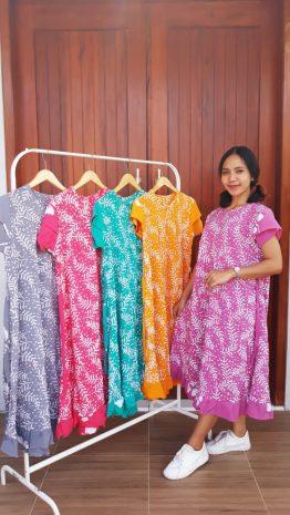 Daster Batik Imanies Warna Lengan Pendek