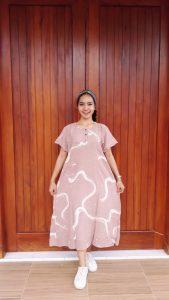 Daster Batik Khinta Lengan Pendek Modern