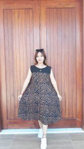 Daster Batik Payung Yukensi Tanpa Lengan