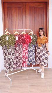 Daster Batik Pekalongan Murah Printing Santung
