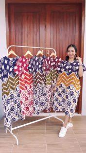 Daster Batik Printing Pekalongan Santung Murah