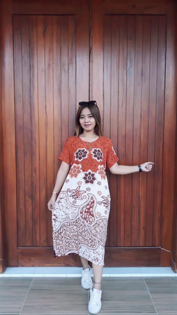 Daster Batik Pekalongan Printing Santung Murah