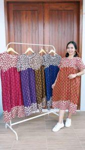 Daster Batik Santung Pekalongan Printing Murah