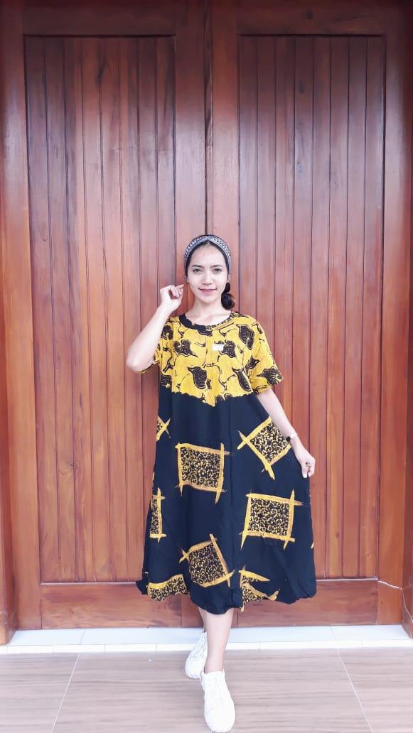 Daster Batik Semi Payung Amplop