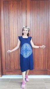 Daster Batik Shibori Yukensi Tanpa Lengan