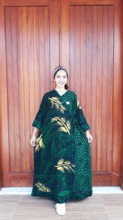 Daster Kimono Batik Jumbo Lengan Panjang