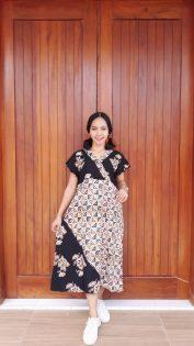 Daster Kimono Batik Murah Lengan Pendek
