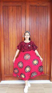 Daster Semi Payung Batik Amplop