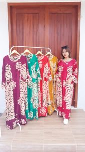 Long Dress Batik Nagita Jumbo Panjang