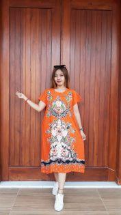 Baju Batik Daster Ratu Busana Pendek
