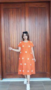 Baju Daster Batik Jumputan Oblong