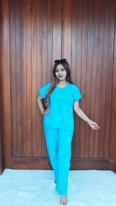 Baju Setelan Batik Celana Panjang Jumputan