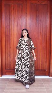 Daster Batik Kimono Standar Lengan 3/4