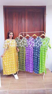 Daster Batik Panjang Chibi Jumbo Warna
