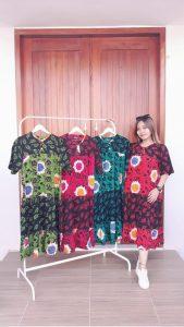 Daster Batik Susun Pendek Warna