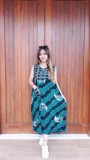 Daster Yukensi Batik Tanpa Lengan