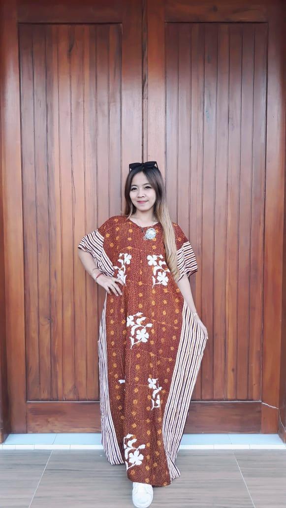 Long Dress Batik Kelelawar Cendana
