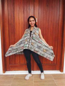 Outer Batik Eksklusif Lengan Pendek Yukensi