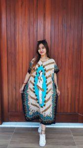 Baju Daster Batik Kelelawar Oblong Pendek