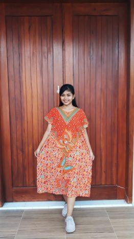 Baju Daster Batik Ratu Busana Pendek