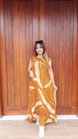 Baju Daster Batik Yukensi Tanpa Lengan